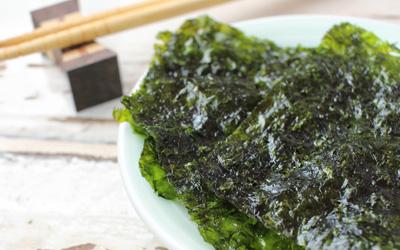 Gedroogde zeewier - Wakame